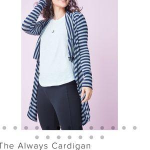 Stella & Dot Sweaters - Stripe always cardigan large